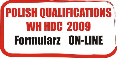 Formularz ON-LINE - The Polish Qualifications for the Word Hip Hop Dance Championship