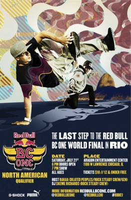 The Red Bull BC One North American Qualifier