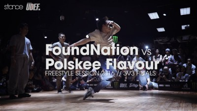 Polskee Flavour vs FoundNation [Finał] // Freestyle Session 2016