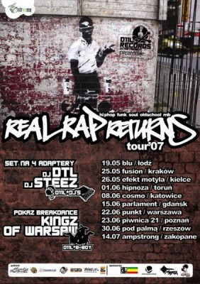 Real Rap Returns (Dje Steez i Dtl, Kingz of Warsaw)