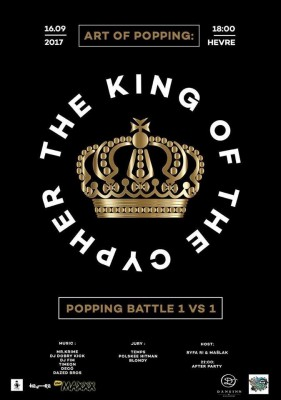Art of Popping The King Of The Cypher