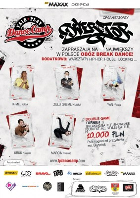 FAIR PLAY DANCE CAMP - BREAK DANCE