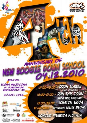 4th Anniversary of New Boogie Down School!