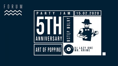 Art of Popping 5th Anniversary Jam