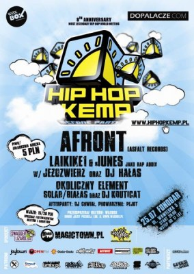 Hip Hop Kemp 2009 Before Party