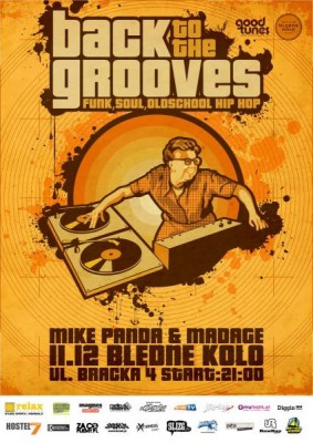 Back To The Grooves – Mike Panda & Madage @ BK
