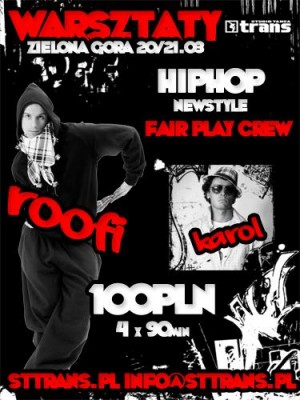 WARSZTATY NEW STYLE - ROOFI (You Can Dance, Fair Play Crew) w ST TRANS