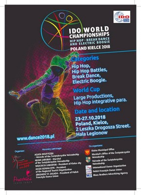 IDO World Hip Hop, Electric Boogie and Break Dance Championships
