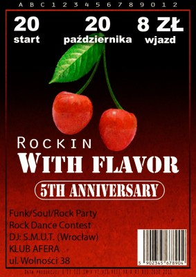 Rockin With Flavor 5th Anniversary