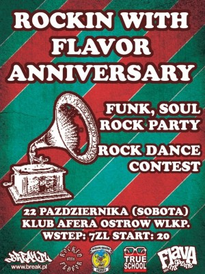 Rockin With Flavor 4th Anniversary