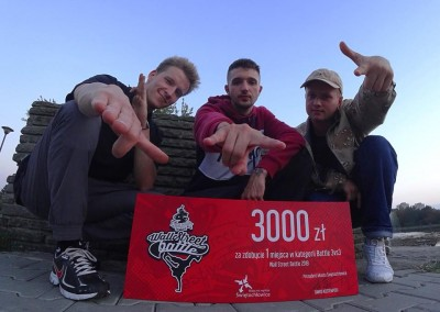 Freestyle Kingz zwyciężyli na Wall Street Battle