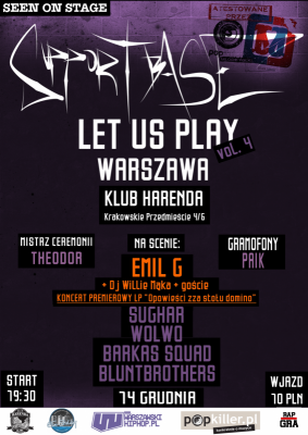 Supportbase: Let Us Play vol.4