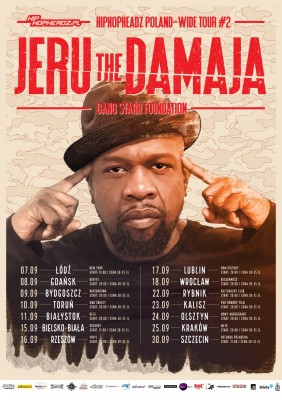 Jeru The Damaja w Łodzi