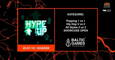 Hype Up 7 na Baltic Games 2k19