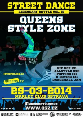 QUEENS STYLE ZONE 15 | hip hop, allstyle, popping & b-boying battle