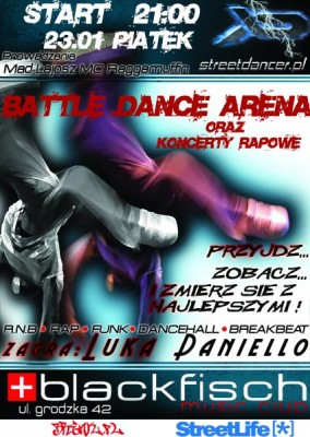 Battle Dance Arena