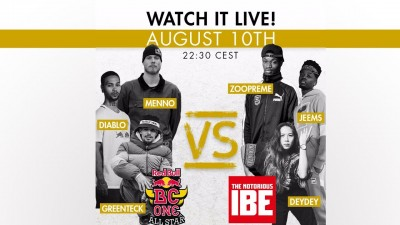 All Styles Battle na The Notorious IBE