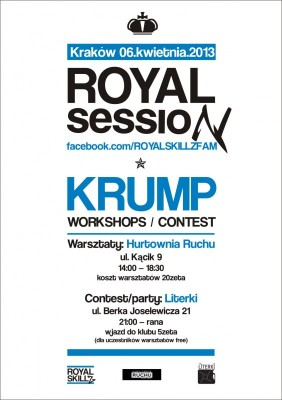 ROYAL SESSION - KRUMP WORKSHOPS, CONTEST 1vs1