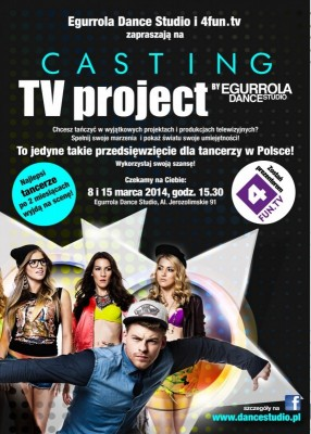 Przyjdź na casting do TV PROJECT!