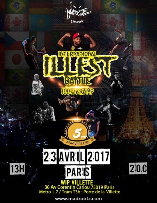 International Illest Battle Final 2017!