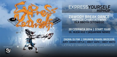 Express Yourself  By Hip Hop (For Cetowy)