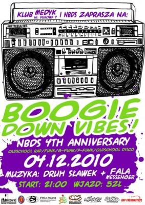 Boogie Down Vibes!