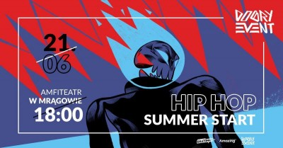 Koncert Hip Hop Summer Start - Mrągowo