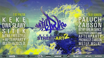 Miedwie Street Art - Bboy Battle vol.2