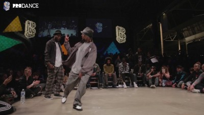 Finał Popping na HIP OPsession 2017!