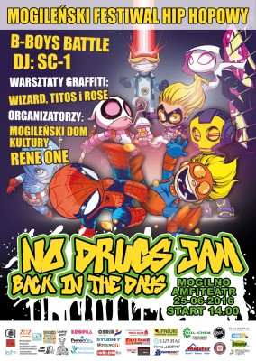 No Drugs Jam Back in the days