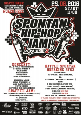 SPONTAN BREAKING Na Spontan Hip-Hop Jam vol.2