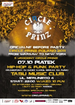 Before Party Circle Prinz PL From Warsaw to New York