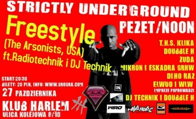 KONCERT FREESTYLE (THE ARSONISTS) SUP. PEZET