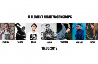 NOCKA 5 Element Night Workshops