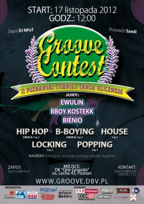 GROOVE CONTEST vol. 2 - Hip Hop, Bboying, House, Locking, Waacking, Popping!