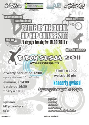 Battle Of The Global Hip Hop Culture 2011
