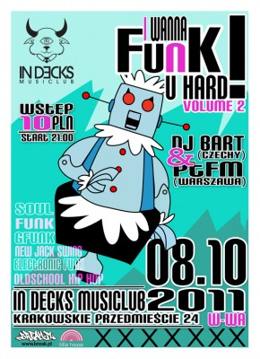 I WANNA FUNK U HARD! vol.2 [08.10.2011]