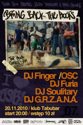 TOP ROCK CONTEST & JAM na drugiej edycji BRING BACK THE ROOTS