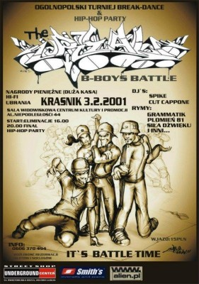 THE REAL B-BOYS BATTLE 2001
