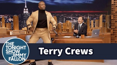 Terry Crews robi robota w programie Jimmy Fallona