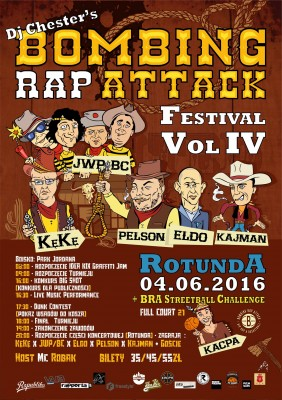 BOMBING RAP ATTACK Festival vol. IV