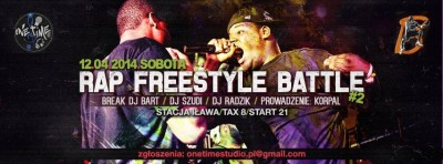 Rap Freestyle Battle #2 /eliminacje BB/ + after party! @Stacja Iława