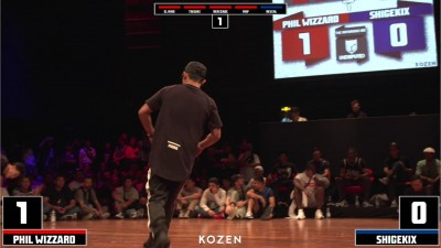 Shigekix vs Phil Wizard - Półfinał 1vs1 Undisputed na IBE 2018