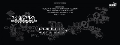 Rap History Warsaw presents Priority & Ruthless Records ft. Eprom, Plash & Blekot | wstęp FREE | Plażowa