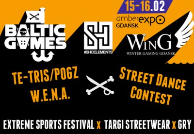 BALTIC GAMES x SHC ELEMENTS x WinG = Amber Expo