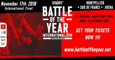Snipes Battle Of The Year International 2018