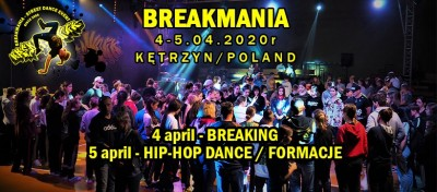 BREAKMANIA 2020 - Hip Hop Battle/Formacje