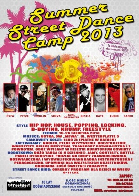 SUMMER DANCE CAMP - IVY (GURL DESTROYER), Ryfa, Sheva, Pitzo, Ewulin, Bestia, Kubik