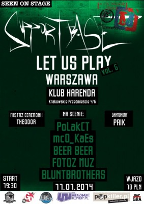 Supportbase: Let Us Play vol.5