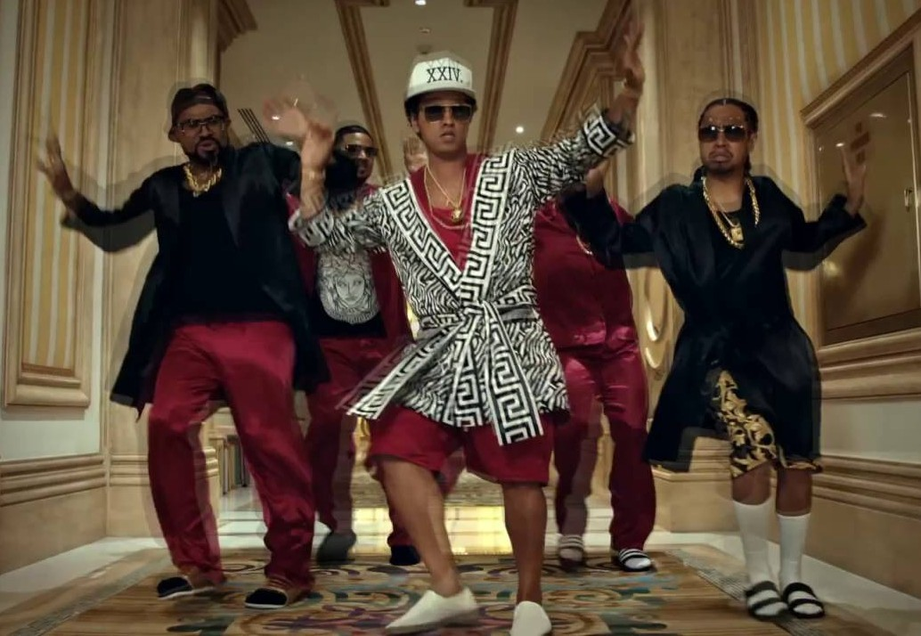 The 24K Message (Bruno Mars / Grandmaster Flash Grandmaster Flash & The Furious Five)